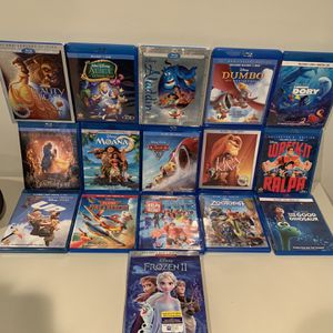 Disney DVD Lot (assorted Titles) for Sale in Chesterfield, MO