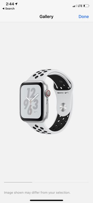 Apple Watch 4 - CELL - 40mm - Nike alum for Sale in Irvine, CA