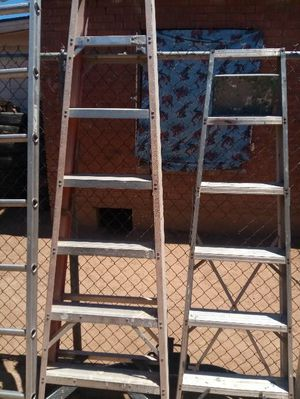 10 ft and 7ft ladders $30 dollars each for Sale in Phoenix, AZ