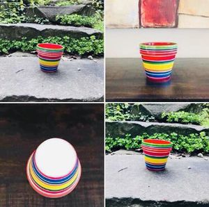 Colorful Planter / Flower Pot for Sale in Milford, MI