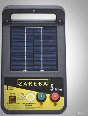 New!! Fence charger, electric fence charger , 5 mile solar low impendance electric fence charger for Sale in Phoenix, AZ