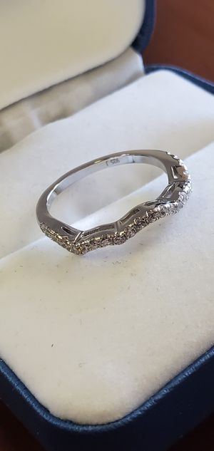 925 Sterling Silver, AAA Cubic Zirconia Stones, Wedding/Engagement Ring Band Size 4, 5, 6, 6.5, 7, 8 & 9 for Sale in Portland, OR