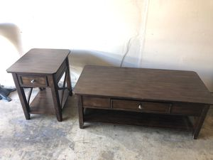 Coffee table / end table for Sale in Pomona, CA