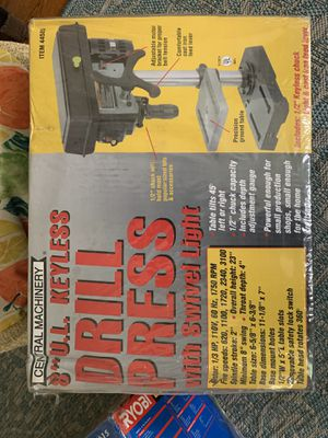 General Machinery Drill Press for Sale in San Diego, CA