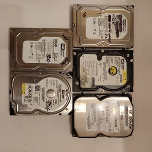 Various computer parts HDDS, Ram, DVD burners, and a cpu for Sale in Queens, NY