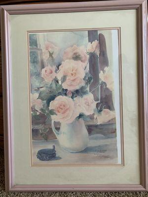 #448/1000 floral print for Sale in Riverside, CA