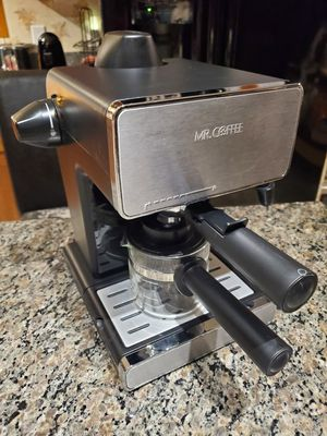 Mr. Coffee ECM260 Steam Espresso & Cappuccino Maker with Milk Frother for Sale in West Columbia, SC