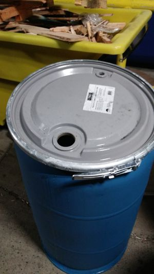 Blue 55 gallon drum plastic for Sale in Oakland, CA