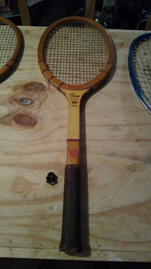Antique tennis racquet for Sale in Edna, TX