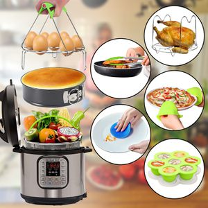 13 pcs Presure Cooker Accessories set for Instant Pot 6, 8 qt Instapot kit, Kitchen Small Items with box for Sale in Escondido, CA
