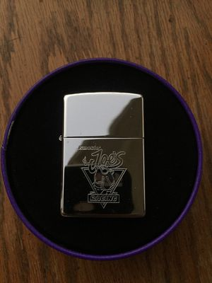 Smoking joe's zippo lighter and case for Sale in Long Beach, CA