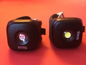 Bike Light Twin Pack (front/rear) w/ USB recharge - KNOG BLINDERS for Sale in Los Angeles, CA