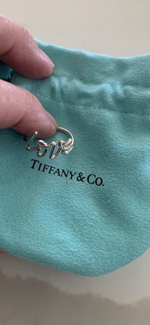 Tiffany Love Bracelet and Ring for Sale in San Leandro, CA