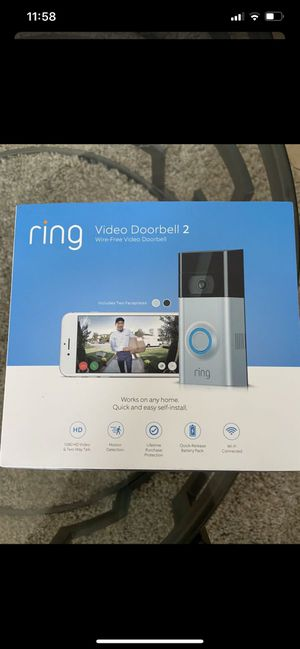 ring video doorbell 2 for Sale in Chula Vista, CA