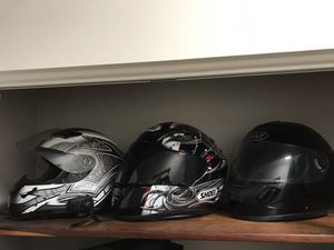 Motorcycle helmets for Sale in Tampa, FL