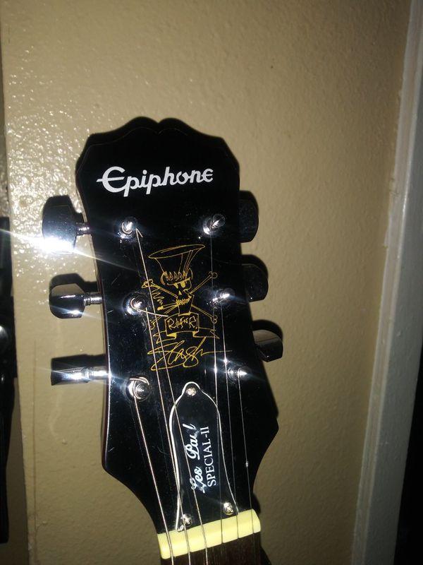 2012 Epiphone appetite for destruction slash guitar