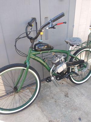 New custom motorized bike 80cc. for Sale in Redondo Beach, CA