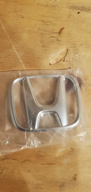 OEM Honda Part #75700 TBA A00 Emblem H MarkFor 2016 2017 2018 2019 for Sale in Gurnee, IL
