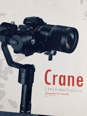 Zhiyun Crane 3 Axis Gimbal Stabilizer for Sale in Hollister, CA