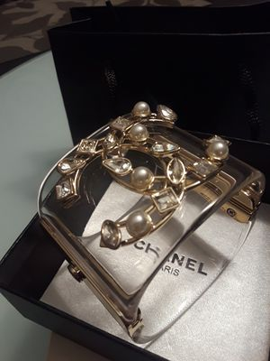 Chanel cuff raisin bracelet new with authenticity card proof for Sale in Coconut Creek, FL