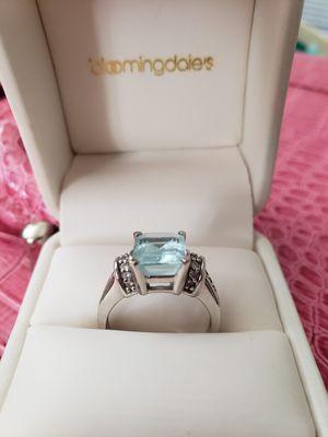 3 Karat Aquamarine Ring for Sale in Scottsdale, AZ