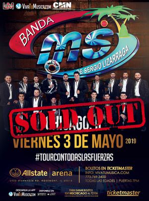 2 BANDA MS TICKETS for May 3rd for Sale in Oak Lawn, IL