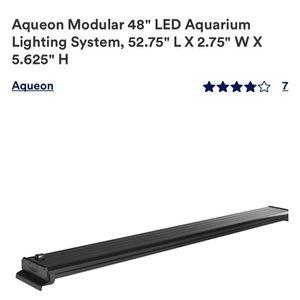 """Aqueon Modular LED 48"""" Aquarium Light for Sale in San Jose, CA"""