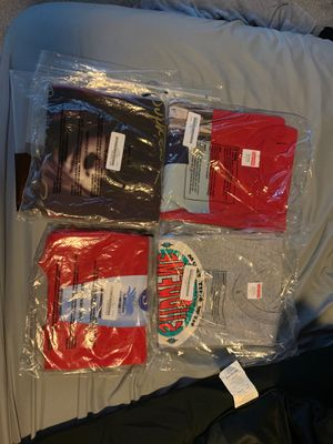 Supreme F/W 19 tees for sale!!! BRAND NEW NEVER OPENED 100% authentic!!! for Sale in Orlando, FL