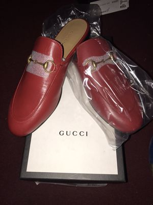 Women's Gucci Princetown Leather Slipper for Sale in Seattle, WA
