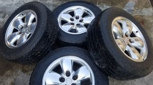 Dodge Ram 1500 wheels and tires 20 inch for Sale in Folsom, CA