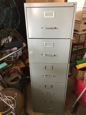 2 legal size File cabinets for Sale in Salt Lake City, UT