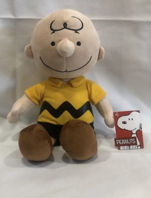"""Peanuts Charlie Brown Plush Stuffed Animal Toy Kohl's Cares 13"""" yellow black for Sale in Oakland, CA"""
