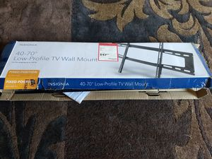 Insignia fixed position tv mount for Sale in Austin, TX