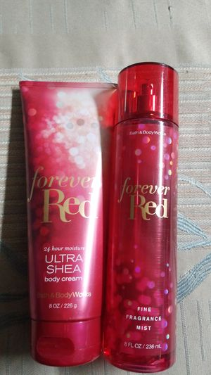BATH AND BODY WORKS-- FOREVER RED $18.00 for Sale in Garden Grove, CA