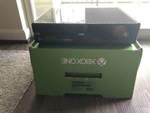 Xbox One with Kinect for Sale in Leesburg, VA