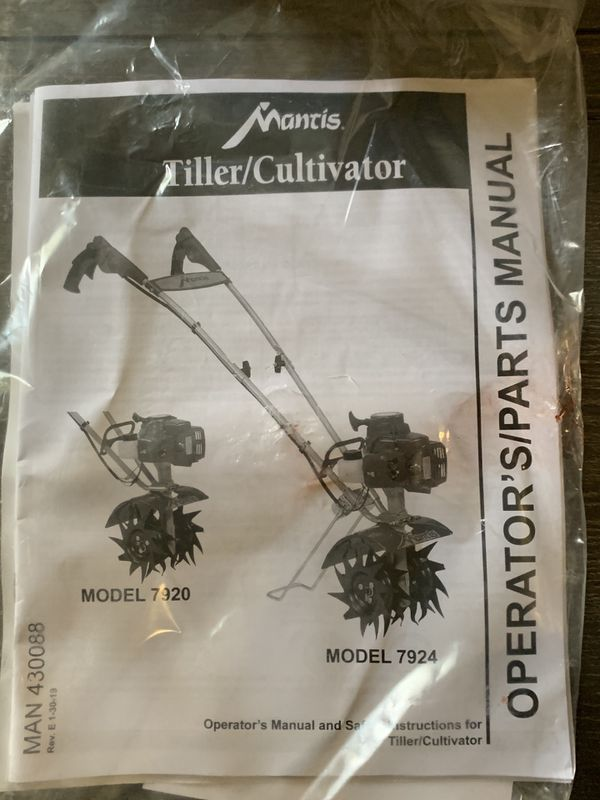 Mantis Tiller/Cultivator