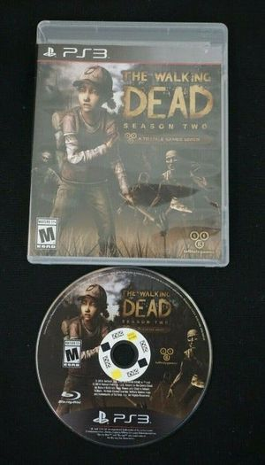 THE WALKING DEADꗮSEASON 2 GAME. FOR⦂ PS3❗🎮 for Sale in Bakersfield, CA