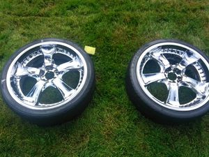 20 inch rims and tires for Sale in Troutdale, OR