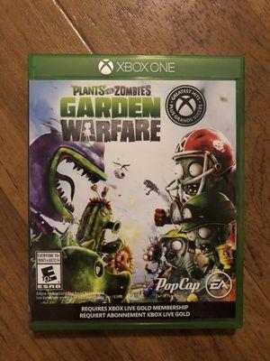 Plants vs Zombies Garden Warfare Xbox One for Sale in Palo Alto, CA