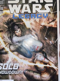 Star Wars Legacy Vol. 2 #13 Dark Horse Comics Solo Showdown Bagged & Boarded for Sale in Waco,  TX