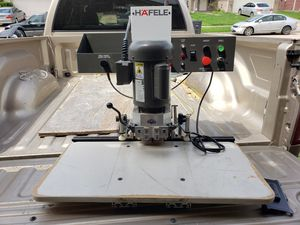 Hafele hinge drilling machine for Sale in Houston, TX