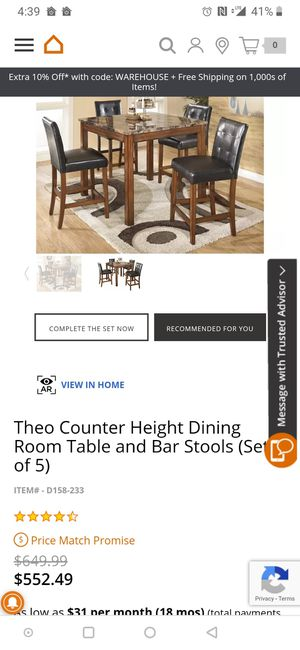 Dining table set for Sale in Tacoma, WA