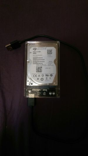 "500GB 2.5"" HDD W/ 3.0 case for Sale in Dixon, MO"