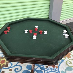 """BEAUTIFUL NICE DESIGN """" WOOD """" OCTAGON BUMPER POOL TABLE AND POKER TABLE .. for Sale in Las Vegas, NV"""