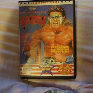 Wwf The Return Of The Ultimate Warrior Dvd for Sale in Chicago, IL