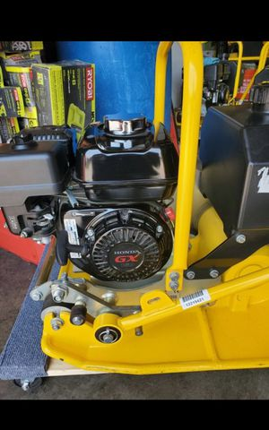 STANLEY GAS COMPACTOR BRAND NEW WITH HONDA ENGINE for Sale in San Bernardino, CA