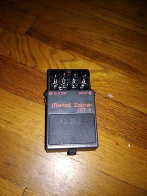 Boss Metal Zone Guitar Distortion for Sale in Lorton, VA