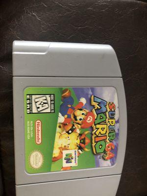 Super Mario 64 for Sale in Chico, CA