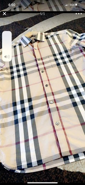 Burberry shirt size s for Sale in San Francisco, CA