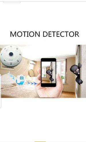 Cieling or wall camera, easy install, great peace of mind, security, babysitter, patio, garage, driveway, witness, spy, wifi, for Sale in San Dimas, CA